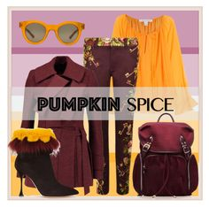 """Pumpkin and wine."" by interesting-times ❤ liked on Polyvore featuring Diane Von Furstenberg, Dolce&Gabbana, Sun Buddies, Proenza Schouler, Manolo Blahnik, M Z Wallace and pss"