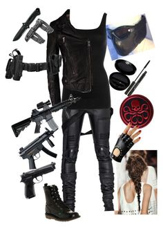 """Female Winter Soldier"" by erulasse ❤ liked on Polyvore"