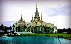 Temple in Korat,Thailand - Photography by Ian Gledhill in My Projects at touchtalent
