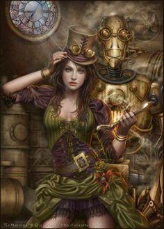 Steampunk: Fantasy Art, Fashion, Fiction & The Movies (Gothic Dreams)