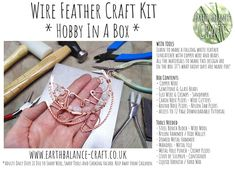 Hobby in a gift box. Craft Projects For Adults, Diy Craft Projects, Crafts, Hobby Kits, Memorial Gifts, What To Make, Suncatchers, Diy Kits, Copper Wire