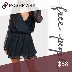NWT Free People Peasant Lace Dress ➖NWT ➖BRAND: Free People ➖SIZE: Large   ❌ NO TRADE  Entropycat Free People Dresses Mini
