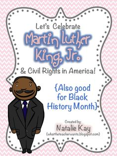 What the Teacher Wants!: MLK and Civil Rights {Upper Grades}