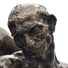 L'âge mûr (détail), vers 1890 par Camille CLAUDEL (1864-1943). Bronze, fonte E. Blot n°3 en 1907. Réduction au tiers du modèle original. Musée Camille Claudel à Nogent-sur-Seine. Photo : Hervé Leyrit