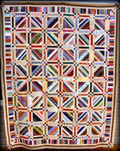 the Coloradolady's String Quilt -- just lovely! :)