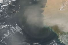 Bits of the Sahara on the Move : Image of the Day : NASA Earth Observatory