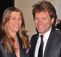 Bon Jovi and his wife