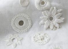 white work | Aimee Betts: Mixed Media Embroidery Designer