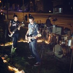 Strange Attractor rocking out on the Kingsway. Have you ever seen anything like this?