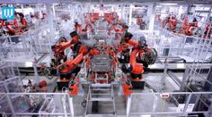 The Robotic Factory where Teslas are made