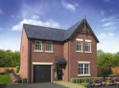 The Keating is a 4 bedroom detached house for sale in Preston Lancashire, New Homes For Sale, Detached House, North West, Shed, Outdoor Structures, Cabin, Bedroom, House Styles
