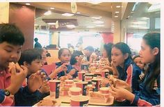 KFC Singapore- 11/26/2005 Robby's treat to the Philippine team for his 3 gold medals
