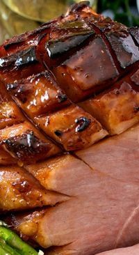 PERFECT HOLIDAY HAM ~ The glaze for this ham sounds wonderful. Cant wait to try it! Holiday Ham, Christmas Ham, Christmas Cooking, Aussie Christmas, Xmas, Christmas Foods, Ham Recipes, Cooking Recipes, Duck Recipes