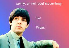 Happy Beatles Valentine's Day