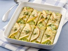 Cannelloni alle verdure  - these were excellent, though time-consuming