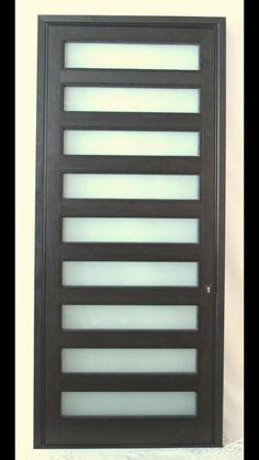 Aluminum Pivot Door with Wood insert Pivot Doors, Entry Doors, Wood Doors, Modern Entry Door, Wood Insert, Window Replacement, Custom Windows, Patio Doors, Window Coverings