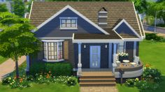 Sims 3 & Sims 4 Creations — Cutiepie Starter No. 2 Download this House Browse...