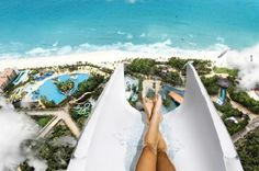 The worlds biggest water slide in brazil
