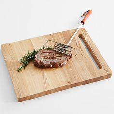 personalized bbq branding iron | you have a steak recipe that's all your own, why not put your name on it with our cheeky branding iron
