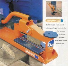 Need a brick splitter? We have one!