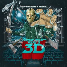 Harry Manfredini Friday The 13th Part 3: Original Soundtrack on Limited Edition Colored 180g 2LP