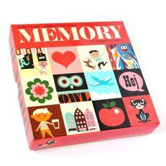 Memory game by Ingela P Arrhenius - www.bateaulune.com