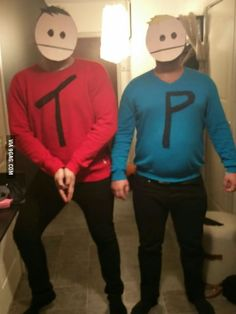 Homemade Terrance and Phillip costumes! What do you guys think?