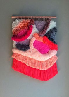 Le Wall Hanging fluo - Marie Claire Maison
