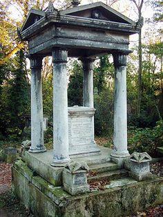 Cementerio Abney Park, Londres (Inglaterra)