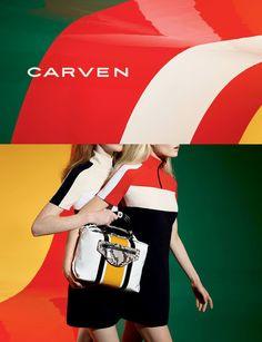 Smile: Ad Campaign: Carven Spring/Summer 2015: Maja Salamon, Magdalena Jasek and Karlis Adler by Viviane Sassen