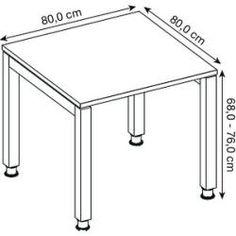 Hammerbacher höhenverstellbarer Schreibtisch Ohne buche rechteckig HammerbacherHammerbacher