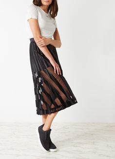 Off white skirt