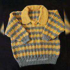 Leaf Knitting Pattern, Baby Boy Knitting Patterns, Baby Cardigan Knitting Pattern, Crochet For Kids, Crochet Baby, Knit Crochet, Baby Vest, Knitted Slippers, Baby Sweaters