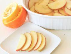 Raw Apple Snack -  juice one lemon and one orange, cut two apples (Fuji or Gala are wonderful!) into thin slices; pour juice over slices to cover and refrigerate for a least 30 minutes (up to 2 hours). Put into a ziploc bag for lunchable treat.