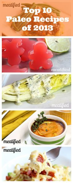 Top 10 Paleo Recipes of 2013 from http://meatified.com