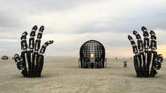 Dit is de mooiste architectuur van Burning Man 2016