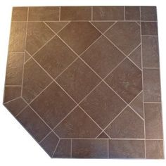 HearthSafe Steel Frame Corner Hearth Pad Listed by Omni Test Labs. Angle Iron steel edge with anti-scratch powder coated finish. A wide variety of tiles and natural stones are availabel. Extremely low pricing for one pad or 100 pads, no quantity restrictions. The highest quality latex modified cements and grout are used..  #HDC_Inc. #Home