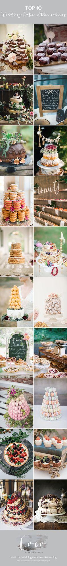10 Wedding Cake Alternatives | UK Wedding Venues Directory