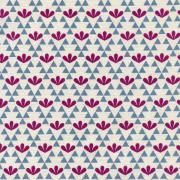 TRIANGLE FLOWERS - VIOLETT