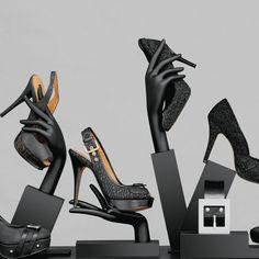 """idea y otra forma de reciclar parte de los maniquies viejos, """"zapatos, pieza de…"""
