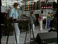 The Beach Boys ☮ Wouldn't It Be Nice & Good Vibrations -- July 13, 1985 - At 12:01pm Status Quo started the 'Live Aid' extravaganza, held between Wembley Stadium, London and The JFK Stadium, Philadelphia. The cream of the world's biggest rock stars took part in the worldwide event, raising over 40million pounds. TV pictures beamed to over 1.5bn people in 160 countries made it the biggest live broadcast ever known.