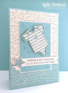 1 Most beautiful handmade card for newborns