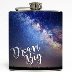 Milky Way Galaxy Flask - Liquid Courage 6 oz Stainless – Liquid Courage Flasks