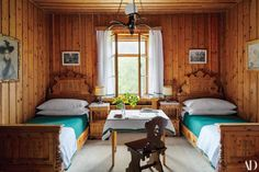 Inside a Rothschild Hunting Lodge in the Austrian Alps Photos | Architectural Digest
