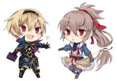 Fire Emblem Fates: Leo and Takumi Chibi