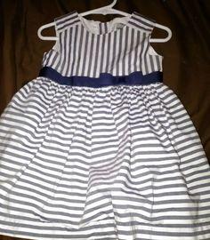 New Gymboree Baby Girl Clothes 2-Piece Set White/&Navy Blue 3 6 9 M