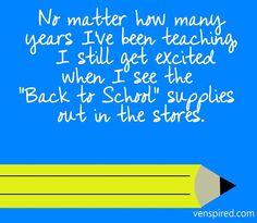 Teaching quote via www.Venspired.com and www.Facebook.com/Venspired