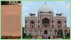 Humayun's Tomb in Delhi, a World Heritage Site #India