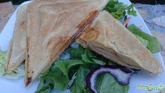 FittKonyha: Receptek... bűntudat és plusz kilók nélkül... Sandwiches, Tacos, Mexican, Ethnic Recipes, Food, Eten, Paninis, Meals, Diet