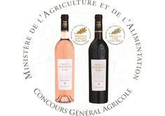 Chateau Roubine Nos Cuvées Terre de Croix Rosé 2015 et Terre de Croix rouge 2013 médaillées au Concours Général Agricole de Paris  #cga_paris #CGA #vin #Wine #Var #Provence